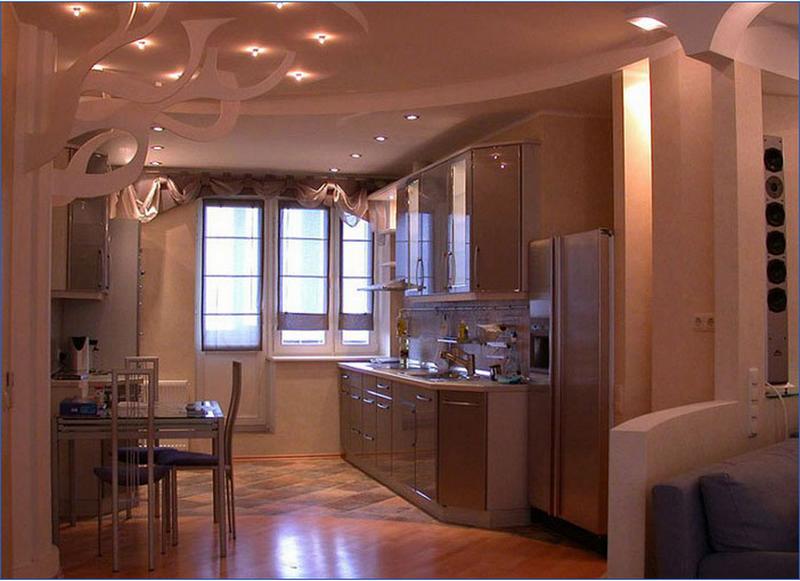 Варианты отделки стен на кухне в фото примерах